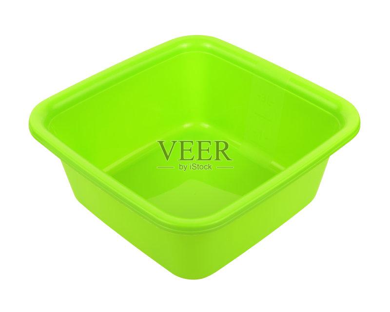 贴路径 新的 洗澡盆 干净 塑胶 空碗 空的 简单 烹调图片