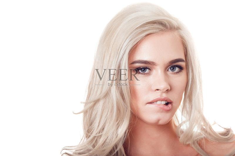 造型-眼睑 设计 时尚 可爱的 女人 人的眼睛 看 魅力 仅女人 白人 皮肤特图片