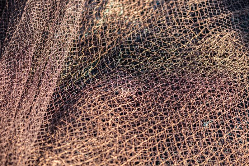 渔网针围巾的织法