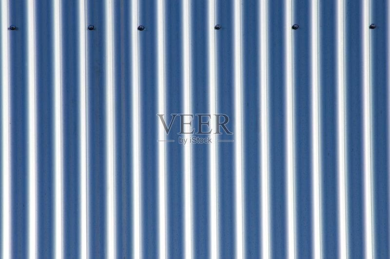 蓝色 波纹 条纹