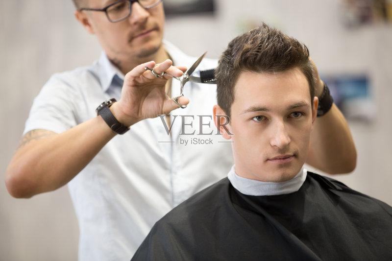 活方式 商店 理发师 发型屋 美发师 时尚 仅男人 美 发型 商业金融和工