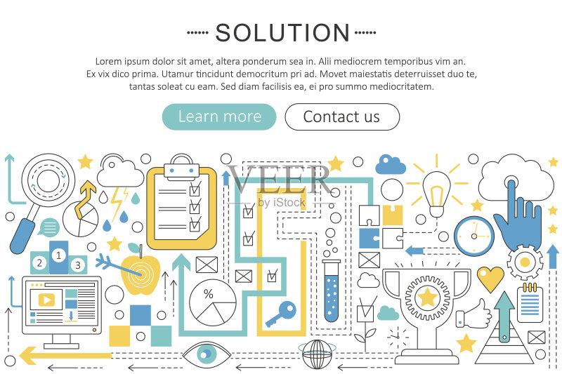 平面-人 一个物体 符号 探索 教育 科学 技术 智慧 团队 商务策略 想象 图片