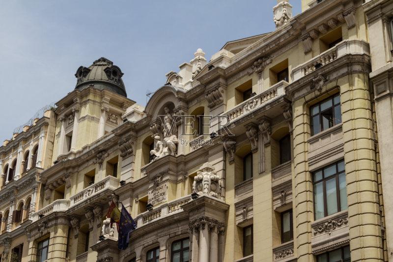 街景-著名景点 首都 西班牙 夏天 白昼 外立面 无人 都市风景 马德里 地图片