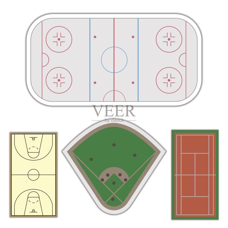 背景 进行中 标记 运动场 绿色 棒球投手 绘画插图 健康生活方式 网页