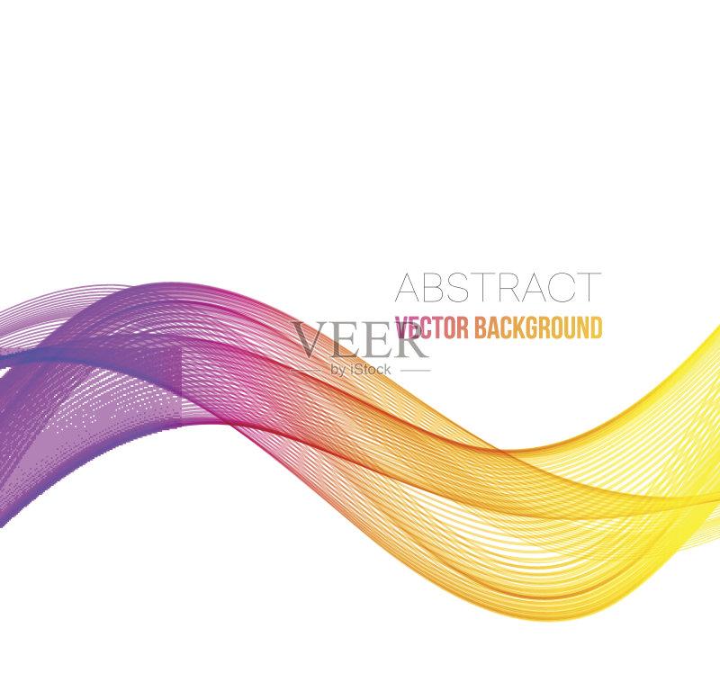 曲线-做计划 绘画插图 商业金融和工业 红色 太空 小册子 光谱色 无人