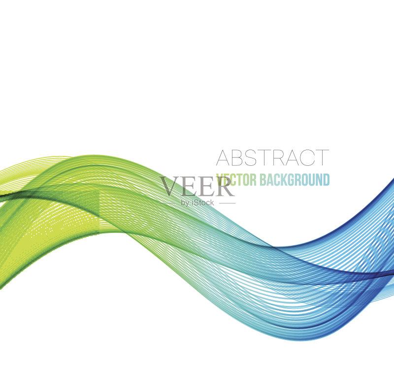 曲线-做计划 绘画插图 商业金融和工业 红色 蓝色 太空 小册子 光谱色