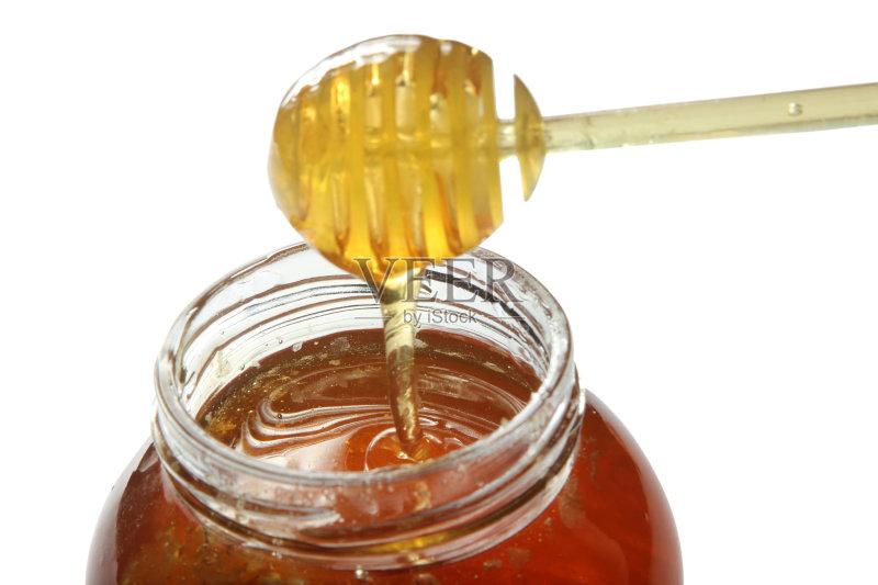 食品 金色 蜂蜜 玻璃杯 饮食 蜂窝 健康食物 成分 有机食品 广口瓶 影图片