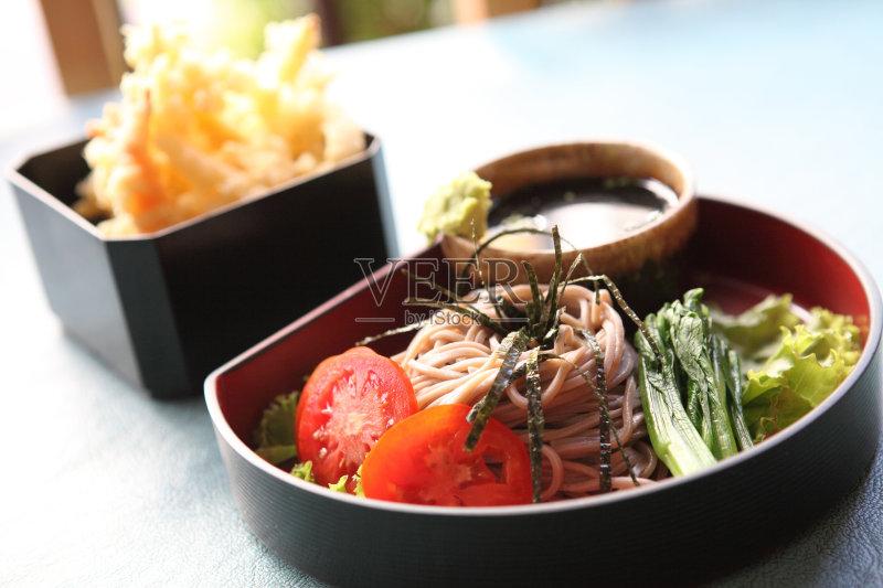日本料理 蔬菜 有机食品 晚餐 美味 夏天 午餐 长野县 面粉 意大利面