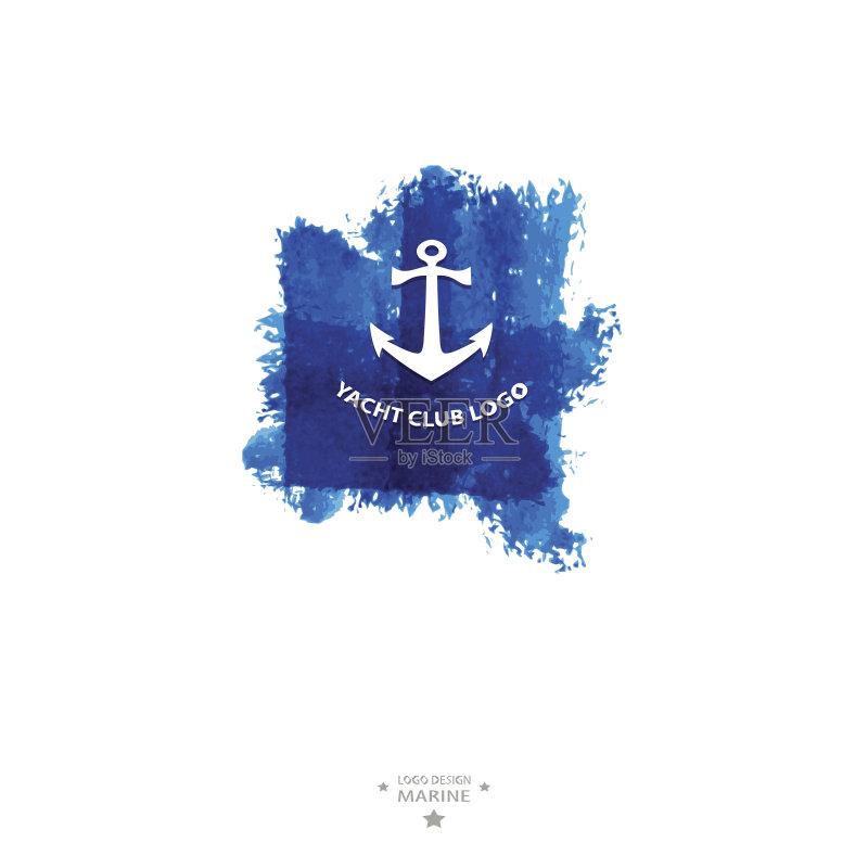 海军 绳子 符号 运输 赛舟会 标志 盾形徽章 冒险 蓝色 船 运动 游艇比