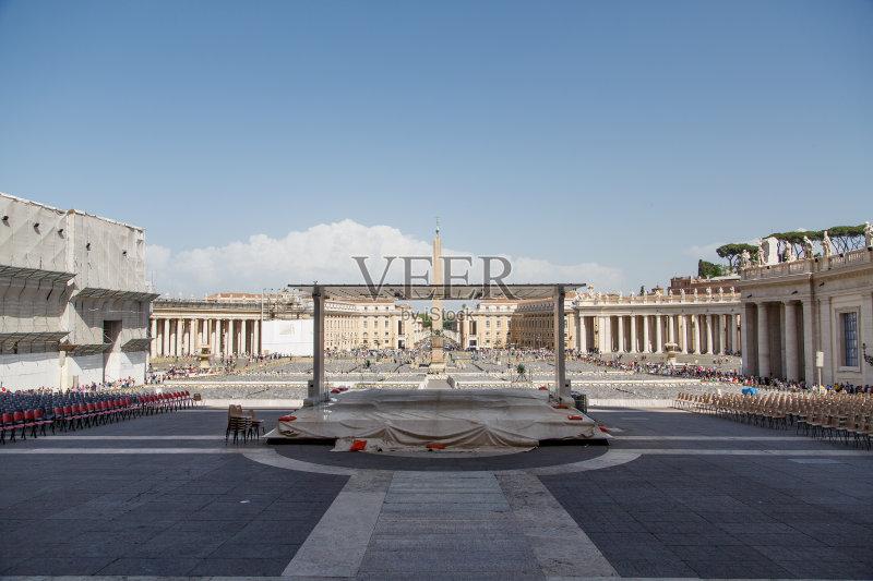 国际著名景点 圣彼得广场 梵蒂冈城