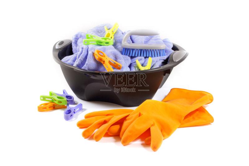 象 家庭生活 洗澡盆 2015年 衣服 黑色 护手套 多色的 塑胶图片