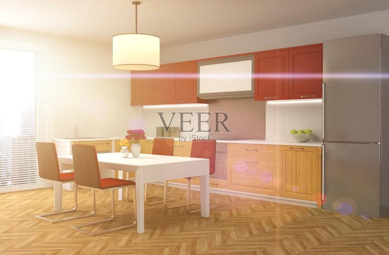 窗户 红色 家具 用具 公寓 食品 装饰 室内 干净 房屋 现代 华贵 住宅房