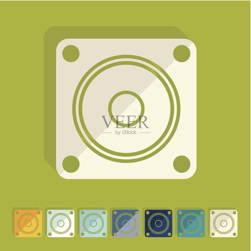 平面-设计 绘画插图 噪声 符号 设备用品 标志 无人 商务 音乐 药丸 技术 图片