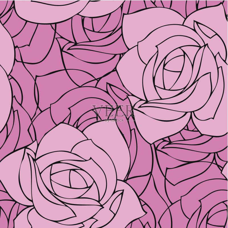 无缝的样式 美术工艺 纺织品 壁纸 艺术 无人 古典式 矢量 创造力 计算