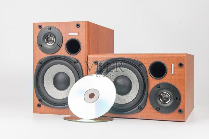 木制 扬声器 白色 技术 噪声 高音谱号 有序 设备用品 膜