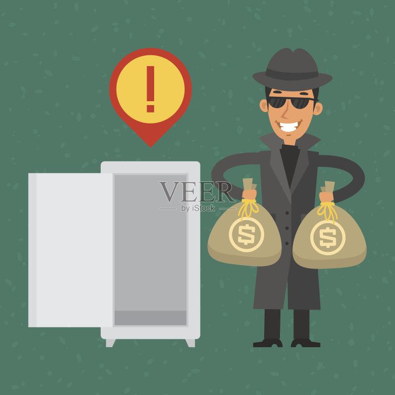 工作服 商务 安全的 2015年 银行 成年人 金融和经济 警告标识图片
