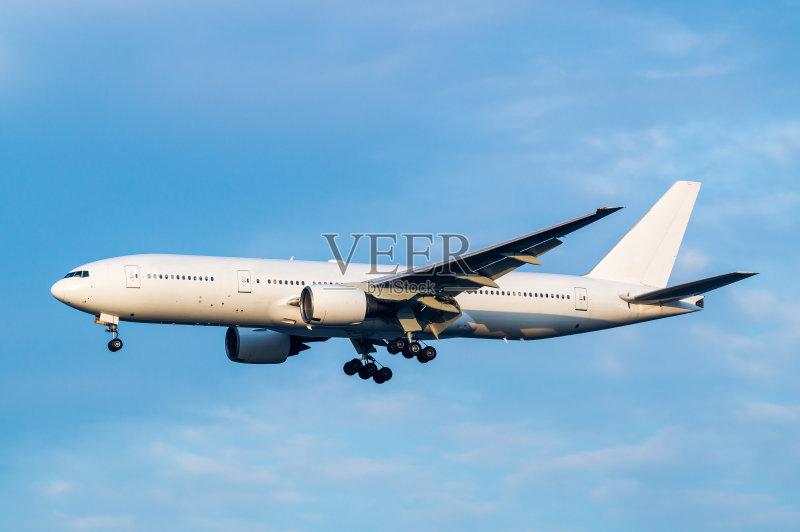 日本 波音777 商用机 飞机 东京国际机场 天空 大田区 羽田 波音777