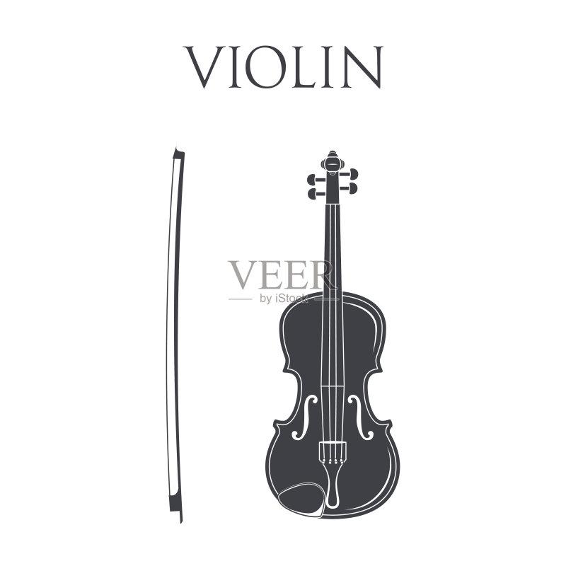个物体 轮廓 乐器弦 符号 中提琴 古典乐 戏剧表演 巴洛克风格 表演艺
