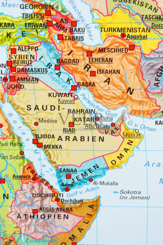政府 旅途 路线图 地图学 式样 伊朗 中间部分 波斯湾 探索 伊拉克 亚