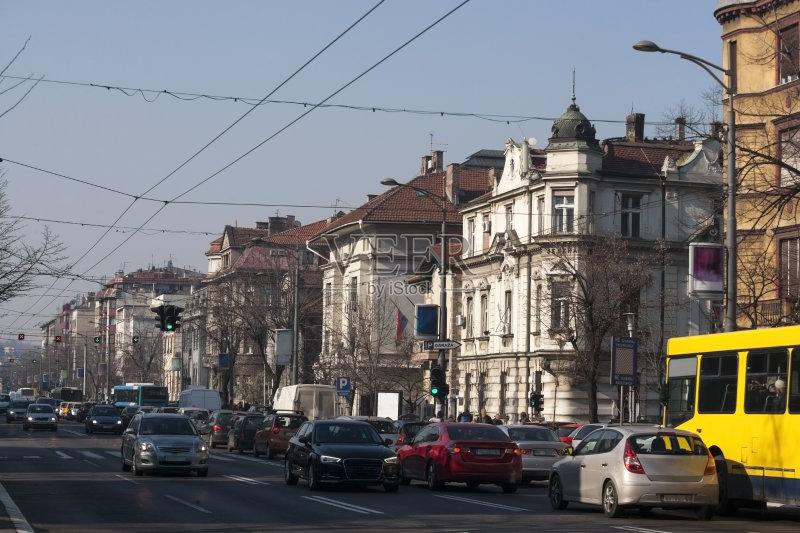 和娱乐 汽车 街道 早晨 户外 色彩鲜艳 时尚 城市生活 美 首都 生锈的 图片