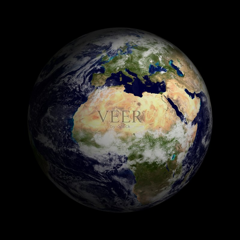 地球-无人 三维图形 行星 科学 空间和天文学 形状 太空 天文学