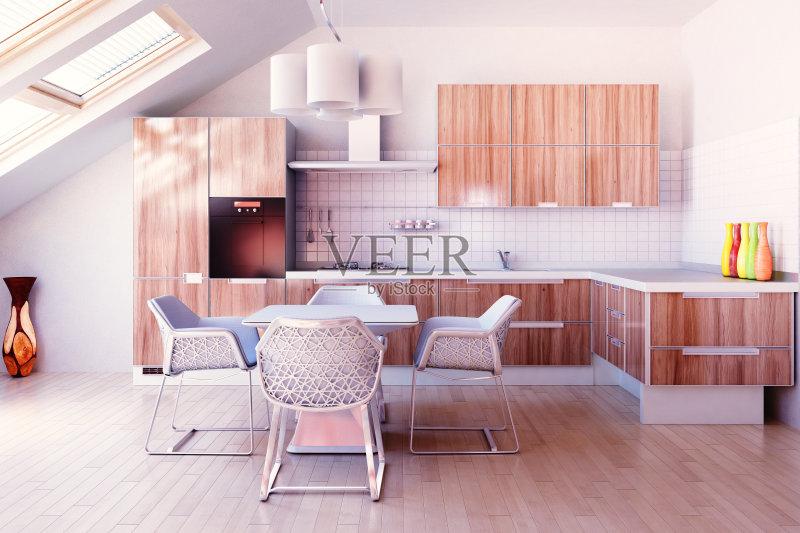 家居-炊具 水晶吊灯 设计 高雅 白色 玻璃 住宅内部 光 铬合金 形状 舒服 图片