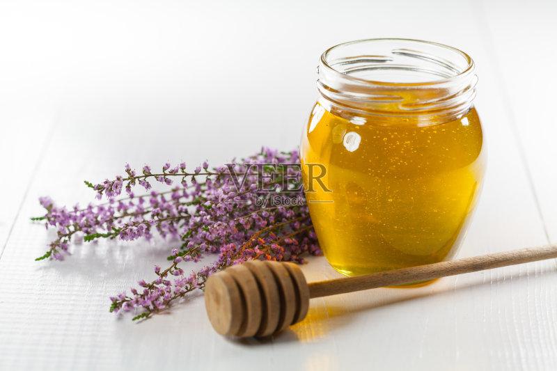 米面包 金色 蜂蜜图片