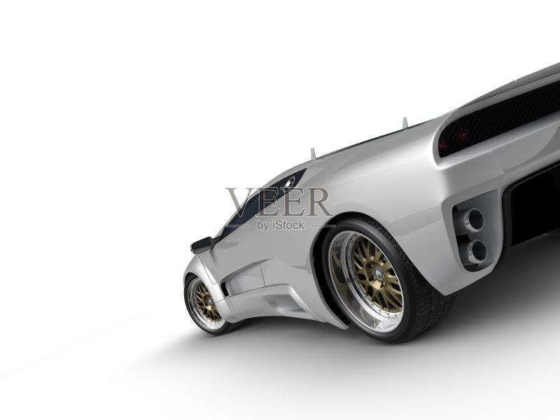 术 生活方式 汽车 现代 平滑的 时尚 华贵 地位的象征 合金车轮 无人 图片