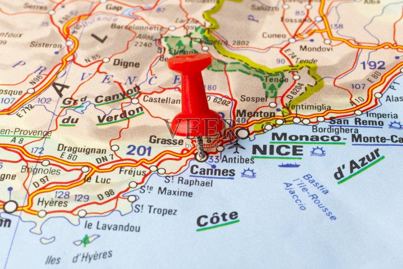 旅途 想法 路线图 概念和主题 地图学 红色 路 法国 探索 旅游目的地