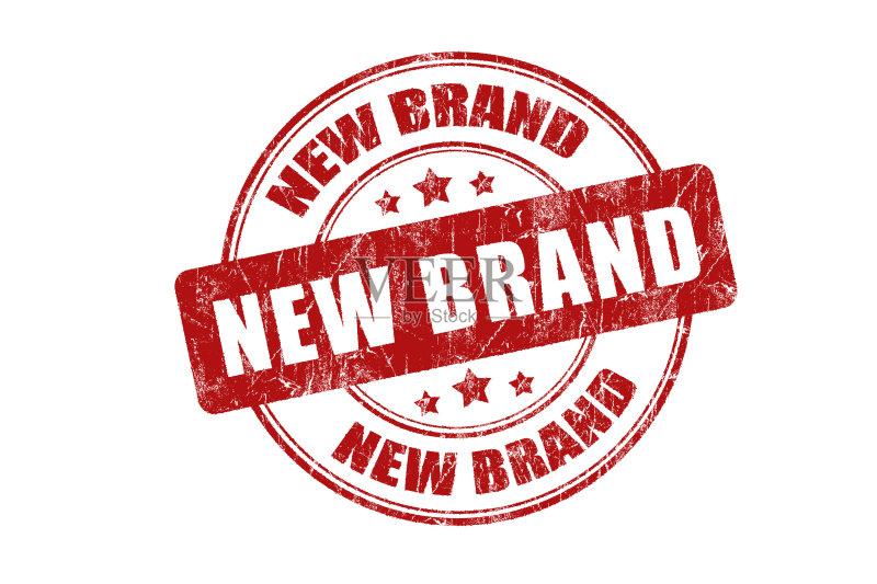 新品-想法 概念和主题 红色 符号 摇滚乐 白色背景 知识产权 橡皮章 墨图片