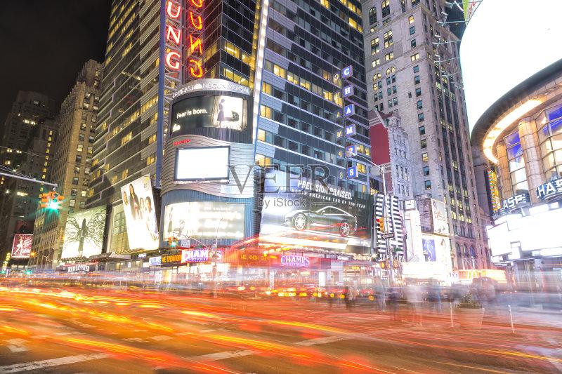 城市 曼哈顿时代广场 美国文化 霓虹灯 国际著名景点 建筑 交通 旅途