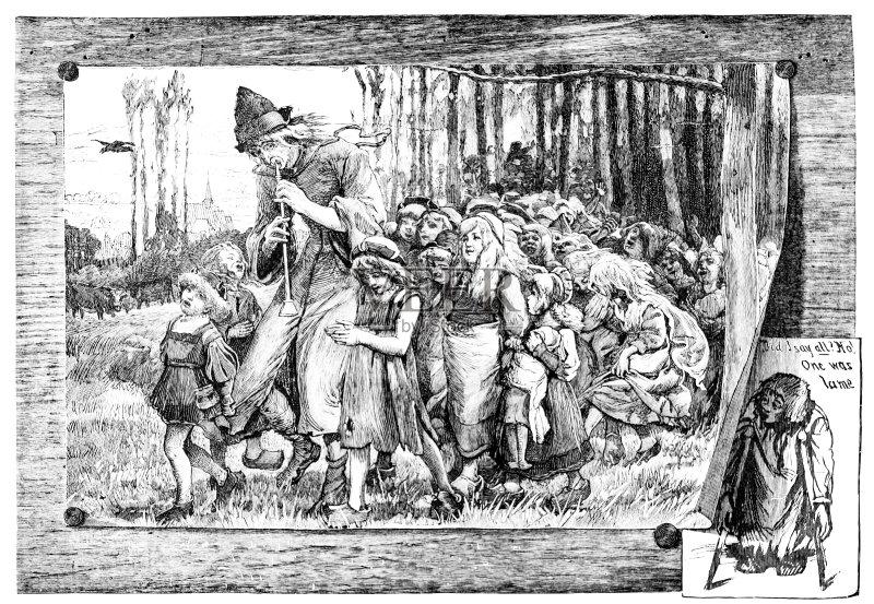 Piper 20世纪 画画 儿童 寓言画 童话故事 1886 绑架 成年人 户外 男人