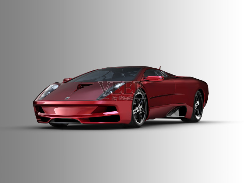 跑车 反射 汽车尾翼 敞篷车 汽车图片