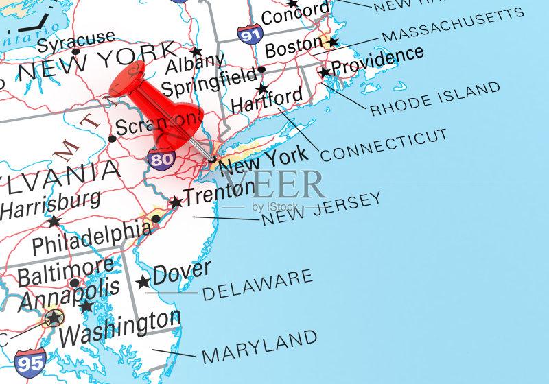 文化 旅途 路线图 地图学 街道图 纽约州 商务旅行 形状 城市 纽约 无
