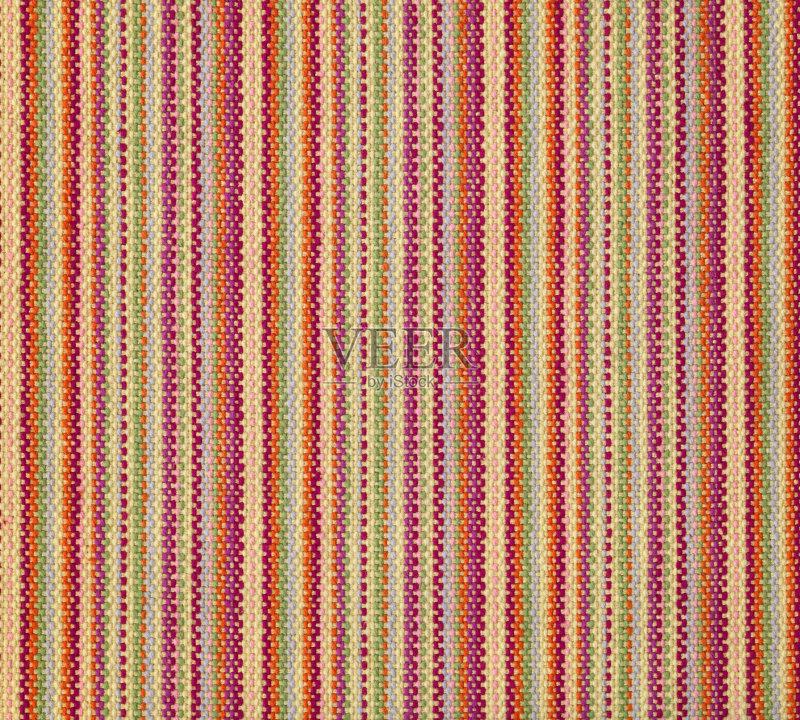 条纹-墨西哥文化 亚麻布 成一排 明亮 斜纹软呢 红色 式样 机织织物 与