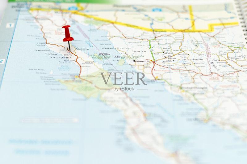 途 一个物体 路线图 地图学 路 墨西哥 运输 探索 成品 旅游目的地 地图