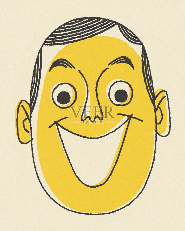 年 人体 面部表情 人的脸部 成年人 微笑 仅成年人 仅一个男人 男人