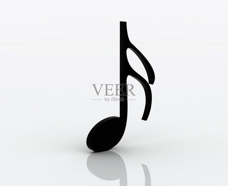 黑色 焦点 高音谱号 古典风格 音乐剧 背景 概念