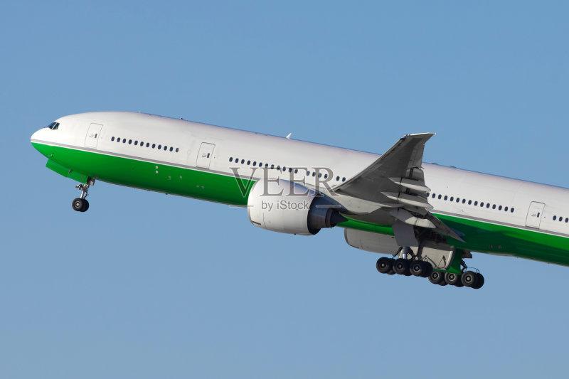 波音777 旅途 飞 飞机 机场 天空 度假