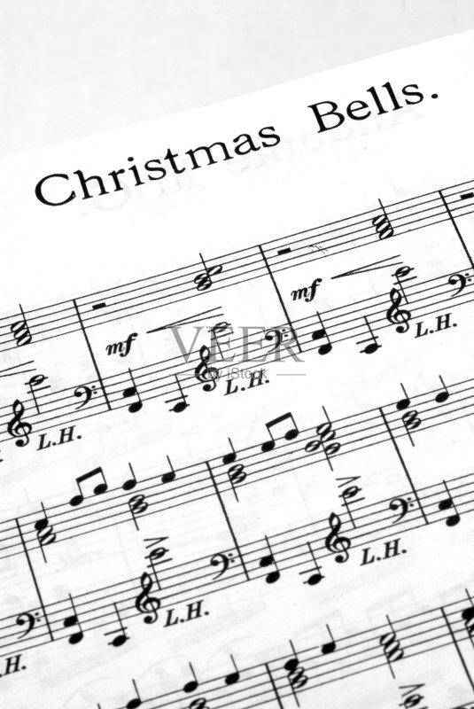 无人 时尚 五线谱 音乐 美 高音谱号 乐谱 圣诞节 纸 成品
