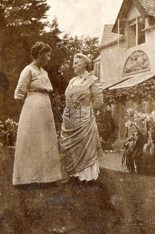 化 女人 19世纪风格 与摄影有关的场景 仅女人 中老年女人 影像年代