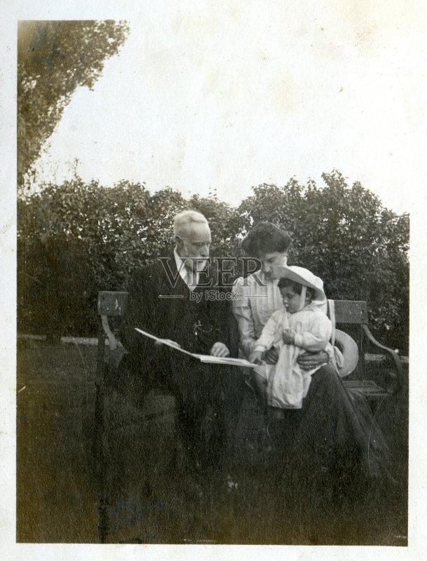 社会历史 曾祖父 风格 历史 古老的 20世纪 古典式 孙女 青年