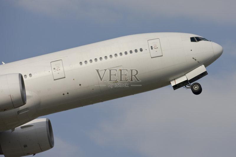 大的 飞行器 波音777 乘客 一个物体 商用机 飞机 运输 头等舱 旅行 飞