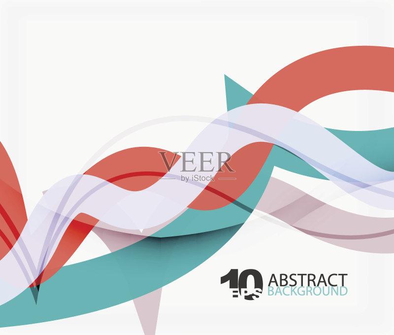 像特效 背景 现代 色彩鲜艳 行动 标语 绘画插图 商业金融和工业 录像