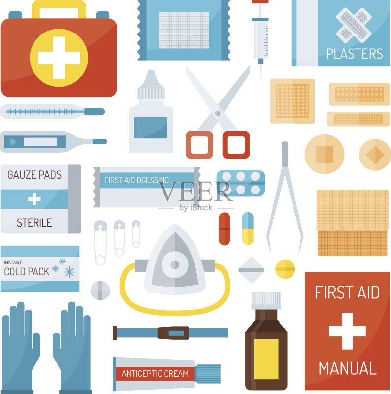 图 急救 急救标志 紧急出口标志 急救包 医疗标志 注射器 协助 成功 图片