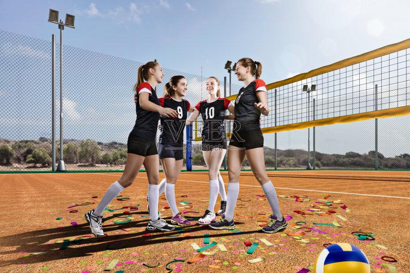 技能 第一名 排球比赛 球 运动冠军 女人 球场 排球运动 体育赛事 运动