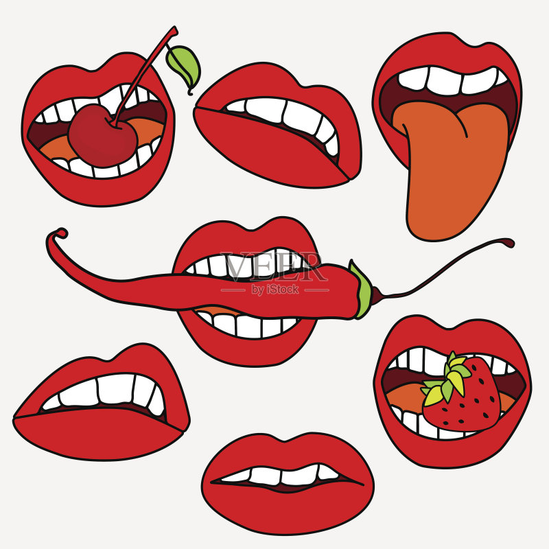 俄罗斯 樱桃树 白色 性和生殖 卡通 收集 红色 草莓 性感符号 跳线电缆 图片